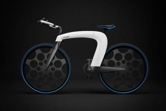 Innovative Folding Ncycle Speeds Towards Futuristic E Bike Design