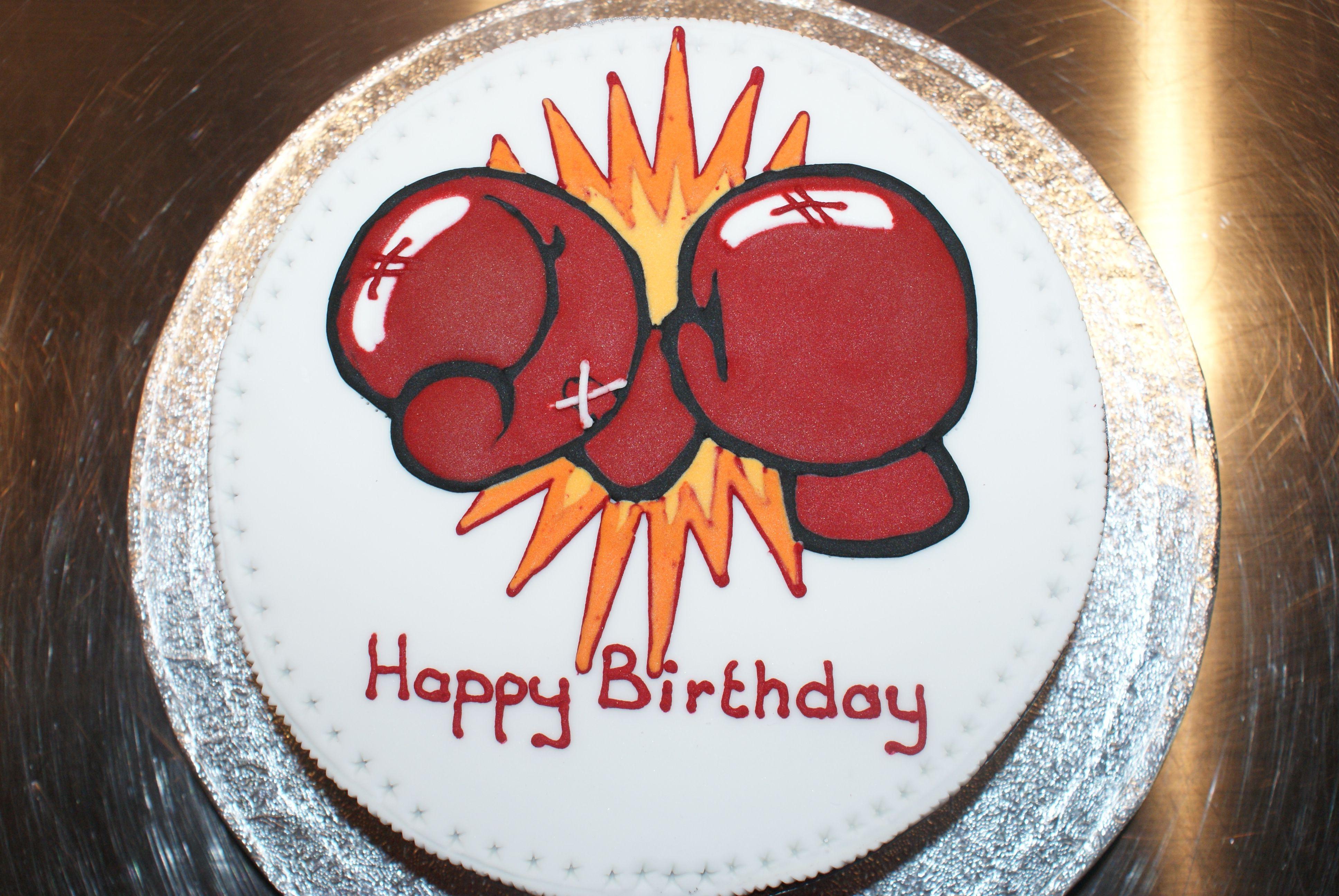 Boxing gloves on a diabetic fruit cake Eats Pinterest Fruit