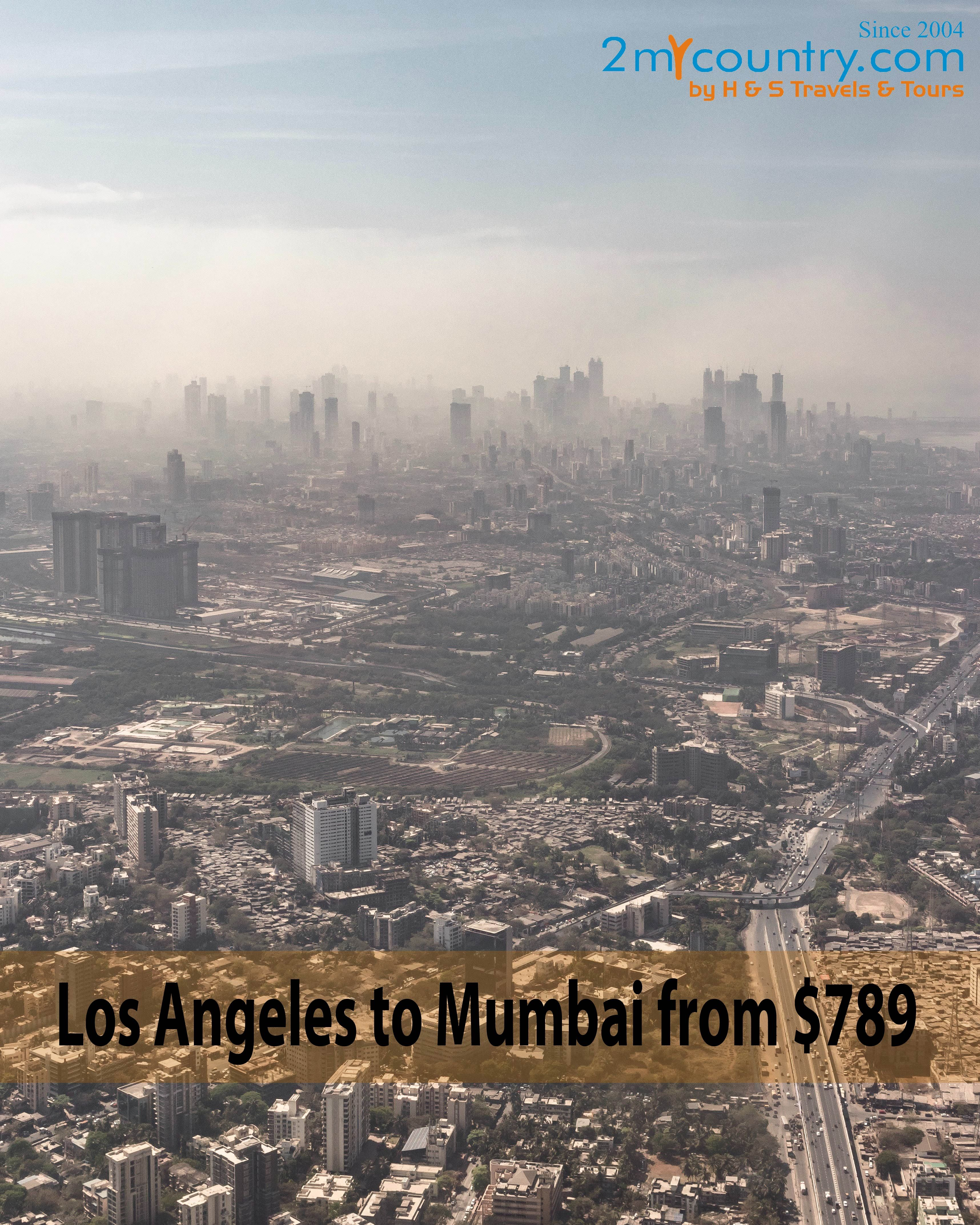 Now get Upto 20% Cashback to the wallet on Los Angeles to Mumbai ✈ tickets. Book Los Angeles to Mumbai flight ticket at cheap airfares with 2mycountry.  #Cheaptickets #laxtobom #airfaredeals #2mycountry #laxtobom #flights #flighttickets #travel #vacation #holiday #traveller #travelphotography #travelingram #travelblog #travelblogger #tourism #tourist #traveltheworld