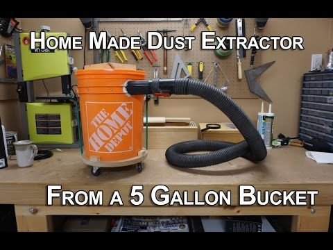 Cheapest Diy Dust Collection System Youtube In 2019