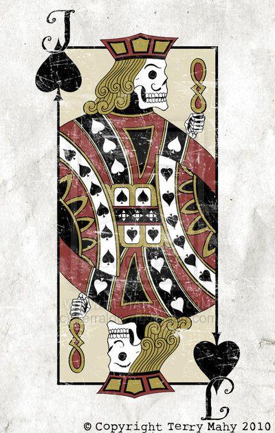 Jack Of Spades Tattoo Meaning : spades, tattoo, meaning, Spades, Terraldo, DeviantART, Playing, Tattoos,, Spades,