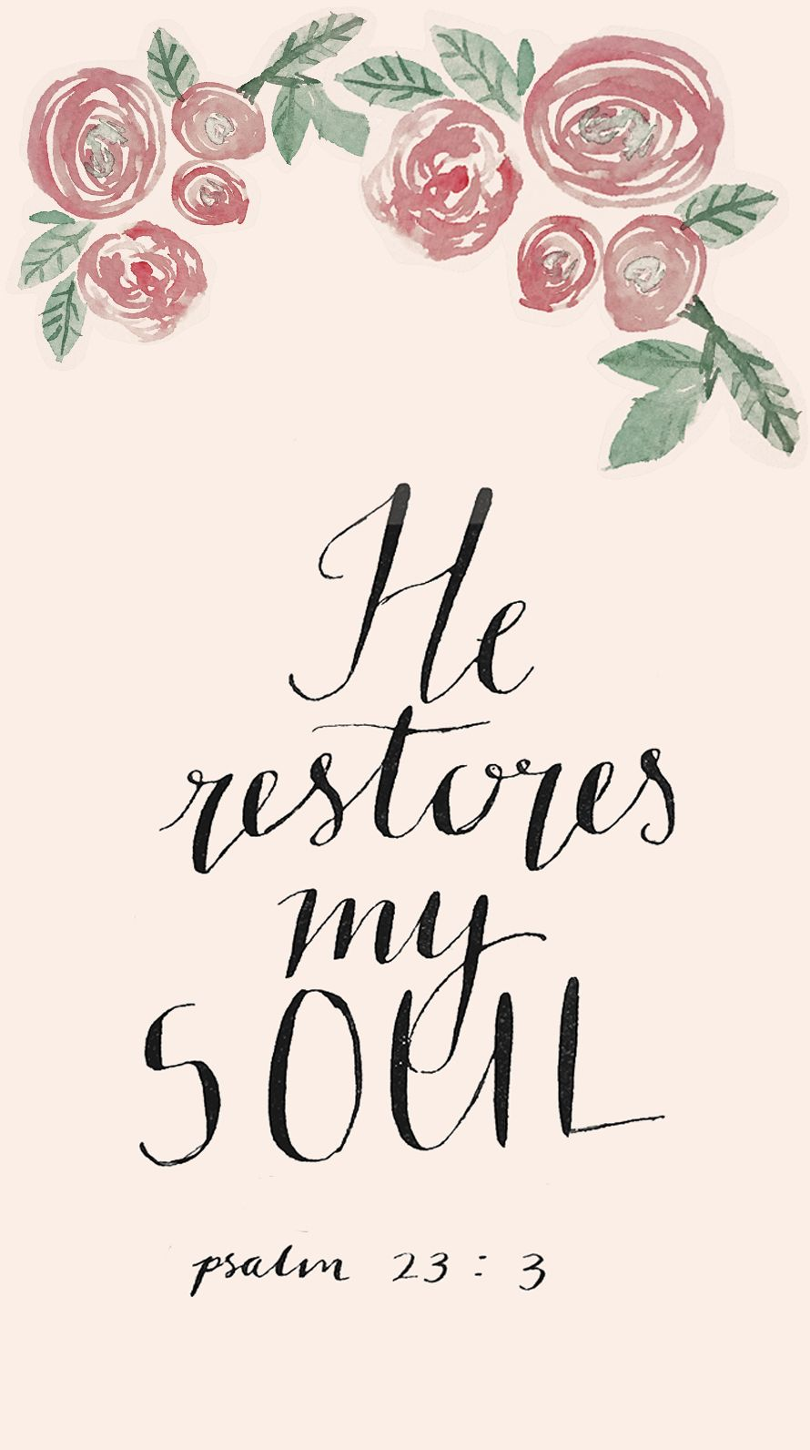 Betsey Johnson Wallpapers Quotes Freebie Psalm 23 Phone Wallpaper Phone Wallpapers