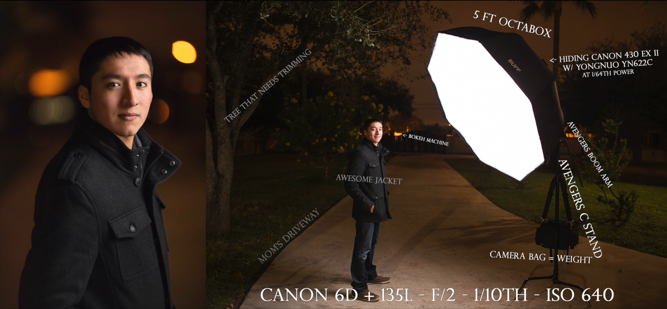 Here S How To Take Awesome Night Portraits With Off Camera Flash