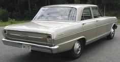 (1963) 4 Door Sedan 300 Chevy Nova
