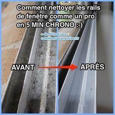 Comment Nettoyer Les Rails De Fenetre Comme Un Pro En 5 Min Chrono