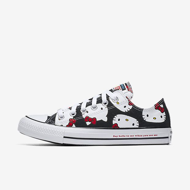 57f4a37585e5 Find the Converse x Hello Kitty Chuck Taylor All Star Canvas Low Top Unisex  Shoe at Nike.com. Enjoy free shipping and returns with NikePlus.