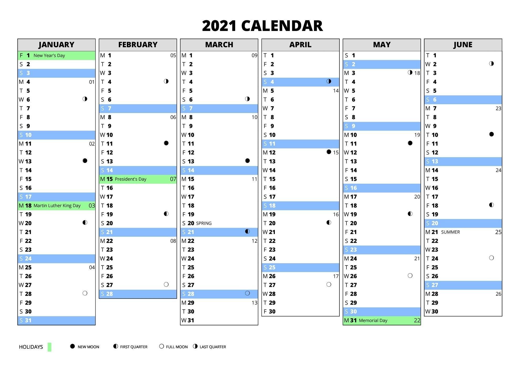 Calendar 365 2021 Wallpaper