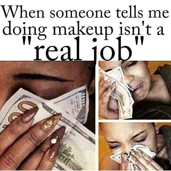 Spam Check Beauty Memes Makeup Artist Quotes Makeup Memes