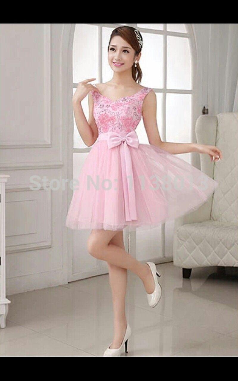 45954cd39 Pin de Nuria Loayza en vestidos cortos de chicas