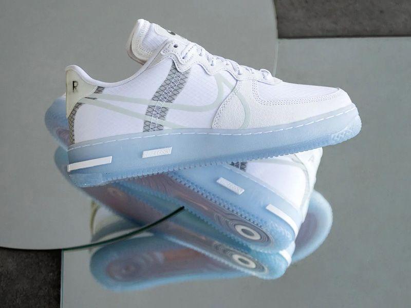 Perder la paciencia Son deberes  Nike Air Force 1 React QS White Light Bone CQ8879-100 On Sale   Nike  fashion shoes, Nike fashion, Nike air