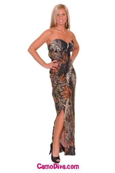 Mercedes Camo Gown