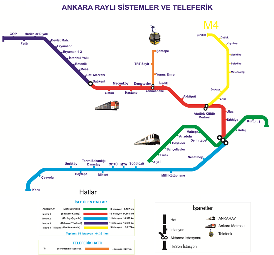 Ankara Metro Map Ankara Metro Map Ancient Cities