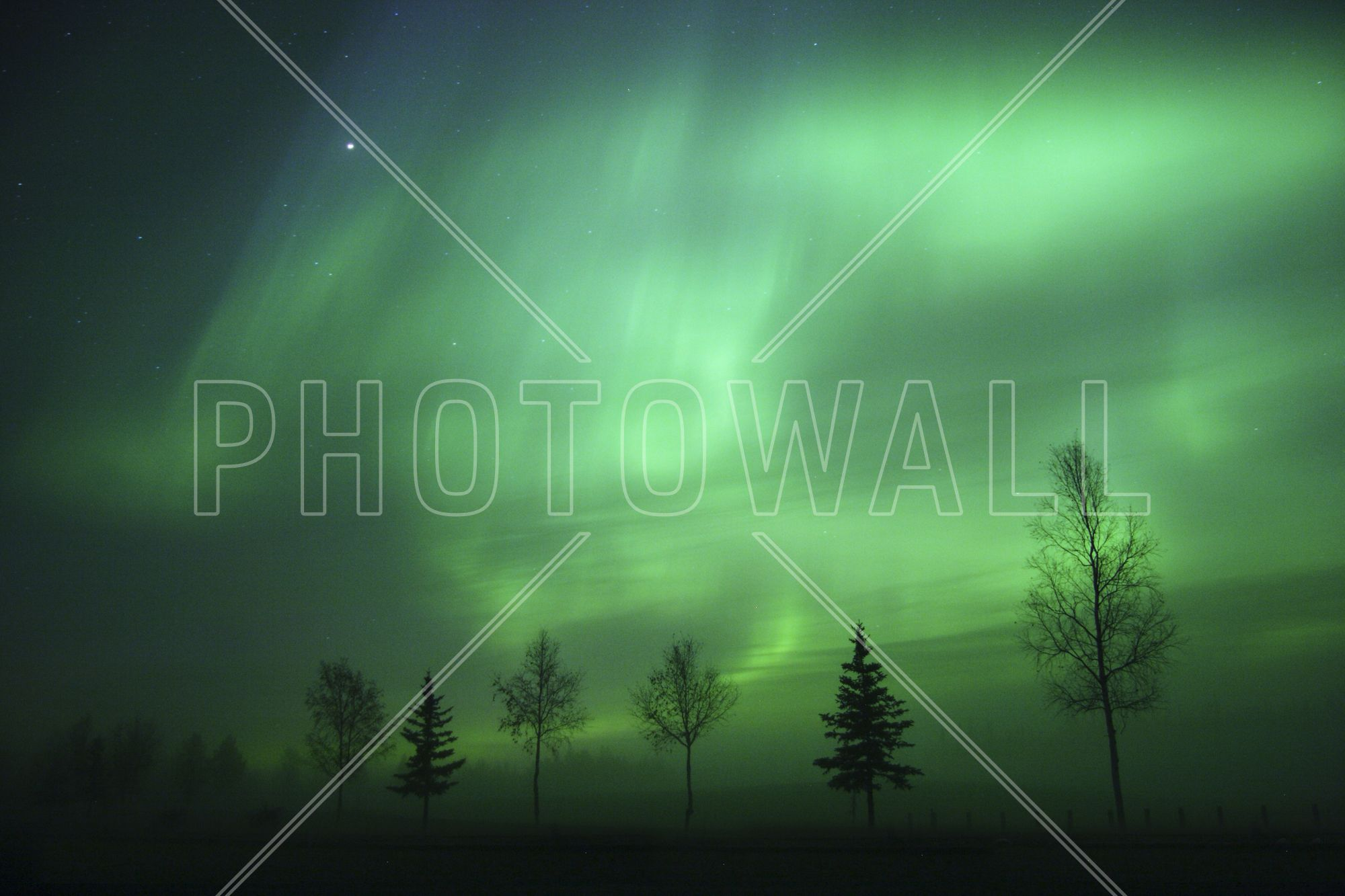 Nordic Lights - Tapetit / tapetti - Photowall