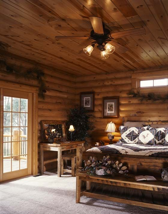 Photos Of A Modern Log Cabin
