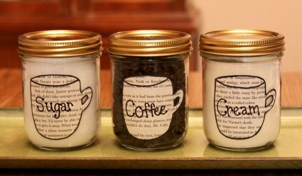 Sugar Cream And Coffee Canisters