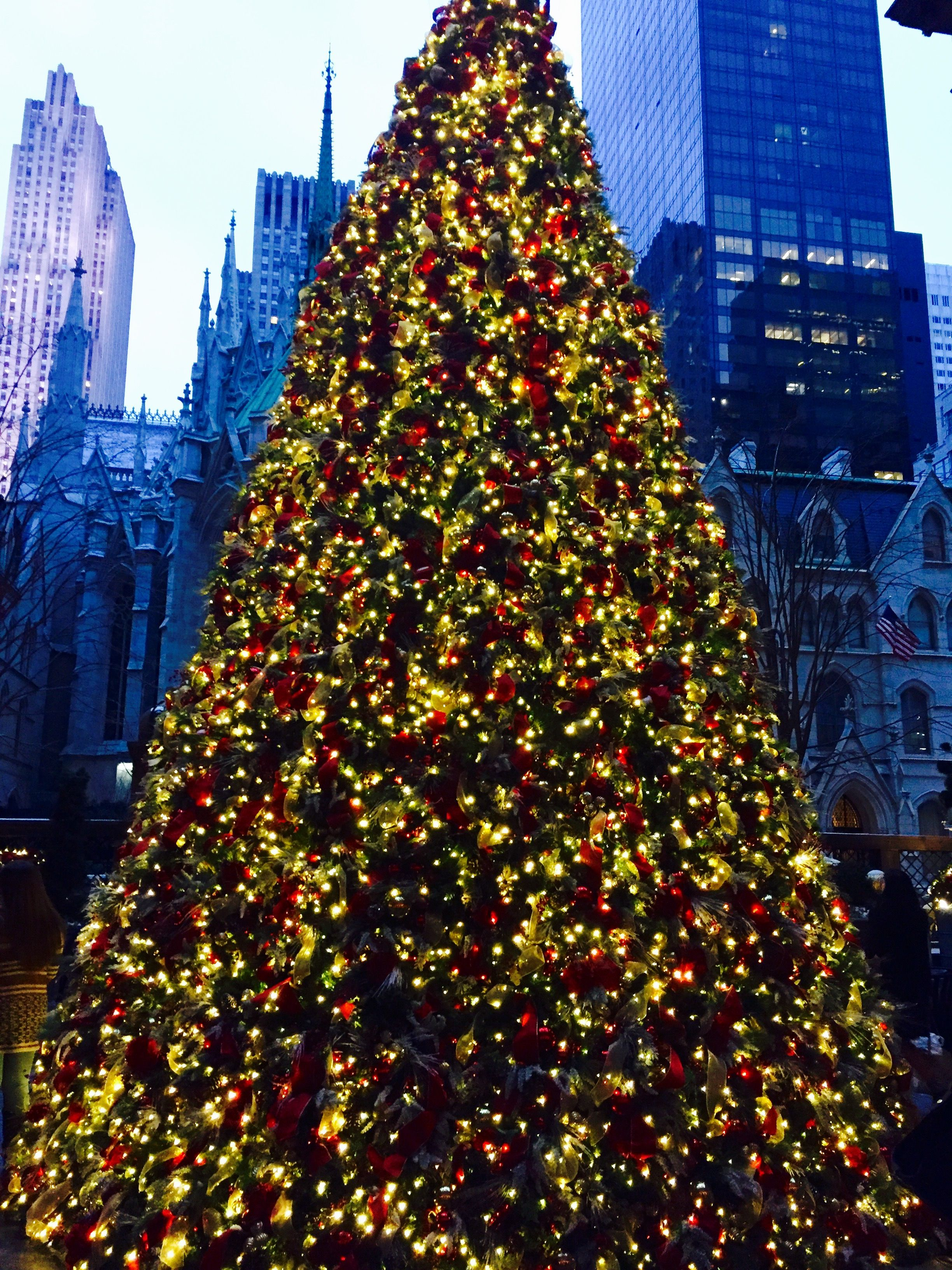 #ChristmasTree #Lotte#Palace #NewYork #Manhattan #Christmas #luxuryhotel #travel | North america ...