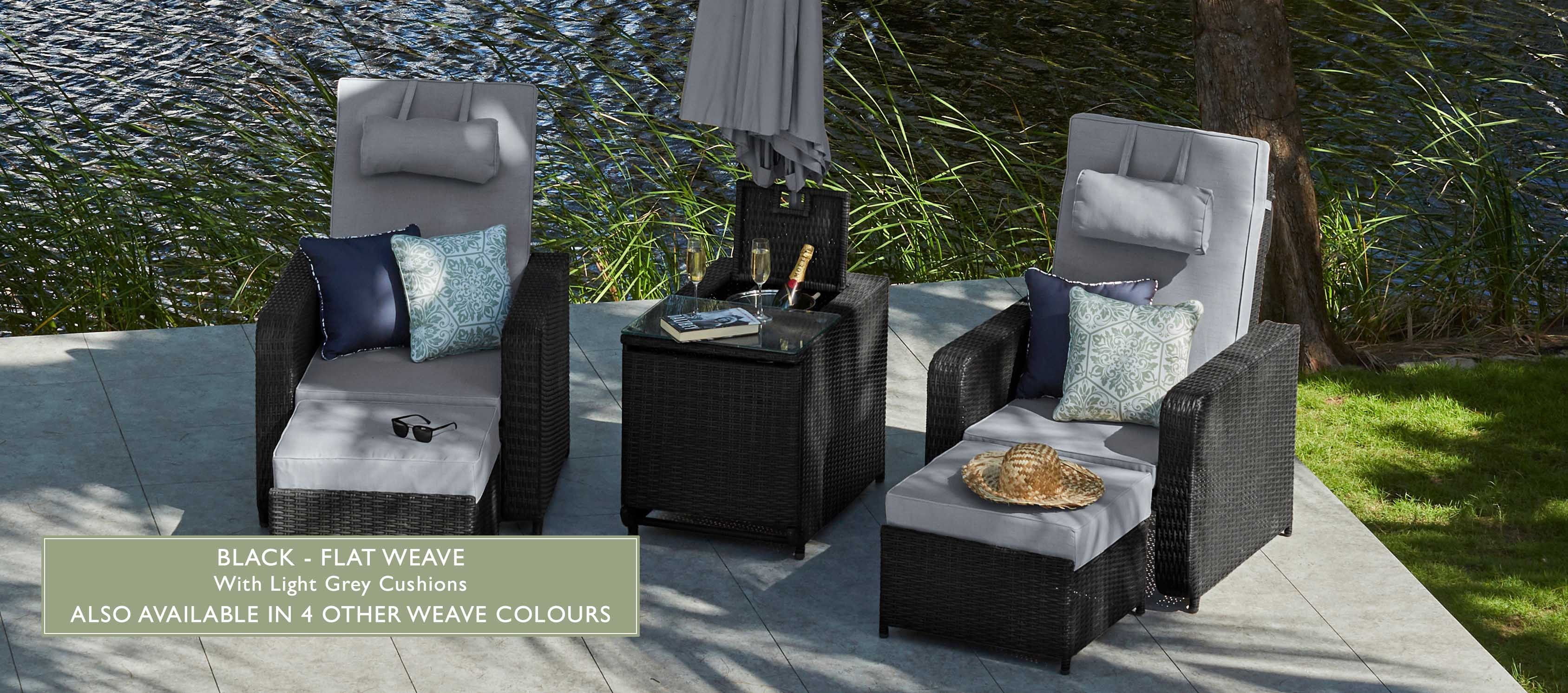ALLEGRO - Reclining Sofa Chair, Daybed or Sunlounger ...