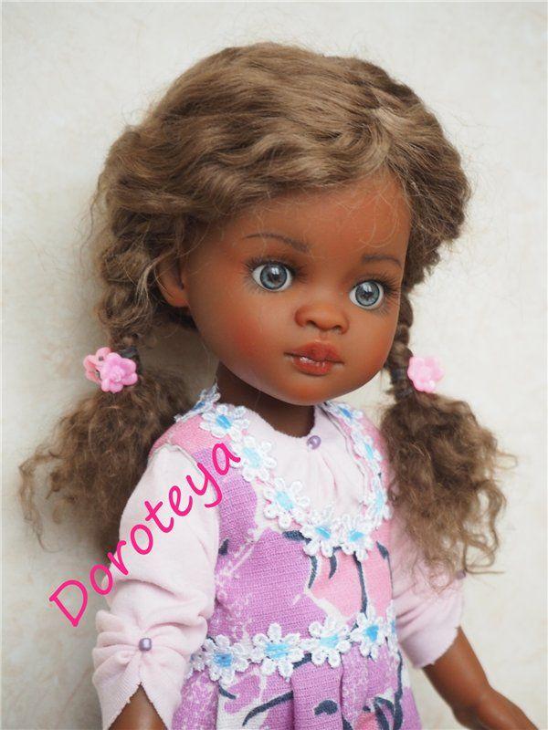 Моя мулаточка-крошка Джилл. ООАК куклы Паола Рейна, Paola Reina / Paola Reina, Antonio Juan и другие испанские куклы / Бэйбики. Куклы фото. Одежда для кукол