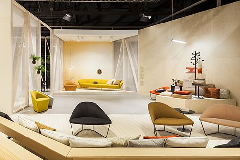 #Arper Milan Design Week #ISaloni Creative direction Lievore Altherr Molina styling by Stef Bakker graphic + stand design 2x4
