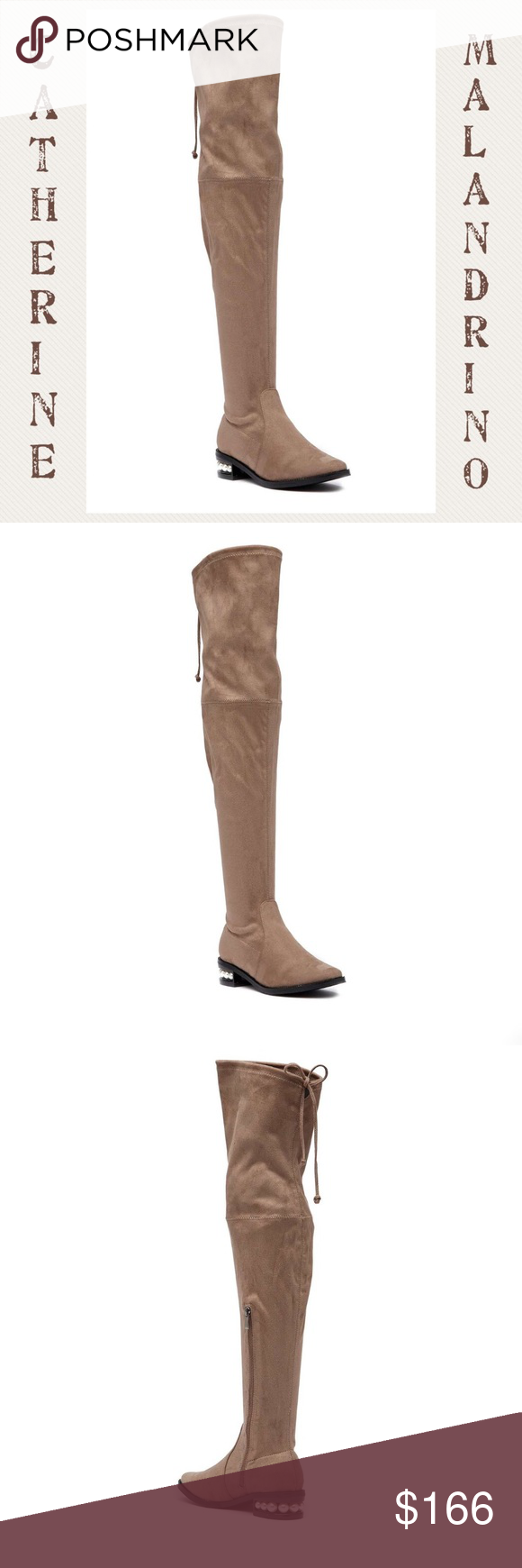 e70f661eb67 Catherine Malandrino Perse Over Knee Boot Sz 8 NWT Catherine Malandrino  Perse Over Knee Boots - Size 8 -  NWT  - Box Included - Taupe Color - On  Trend Look ...