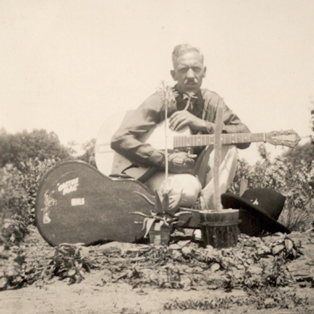 c1939 HILLBILLY COUNTRY MUSIC RADIO MUSICIAN CACTUS MAC w