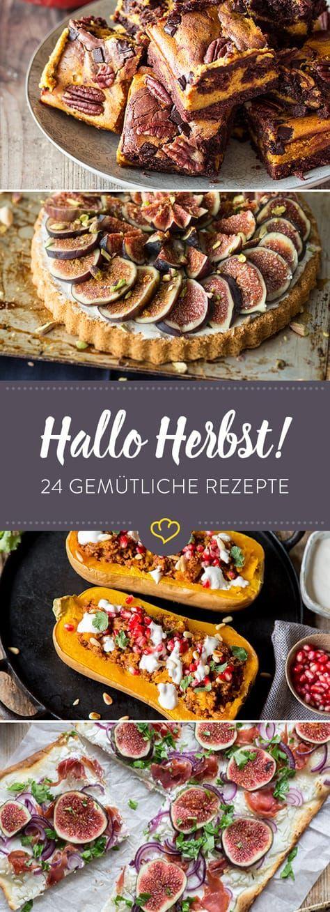 Jetzt wird´s gemütlich: 24 Herbstrezepte für Genießer #herbstgerichte