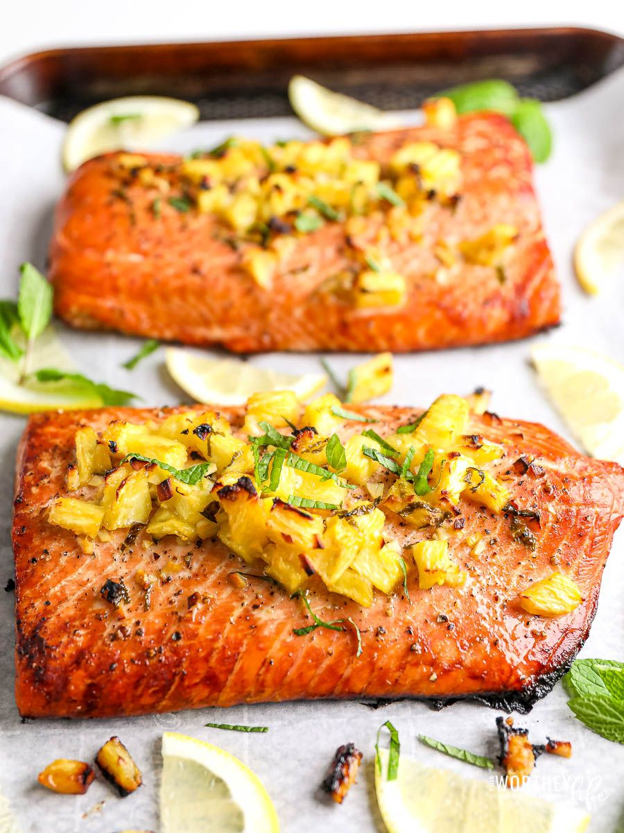 Honey Pineapple Salmon Recipe - Great Holiday or D
