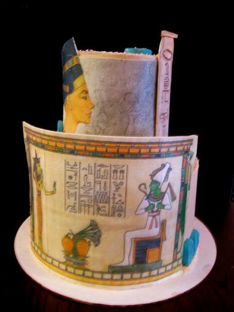 1000 Images About Cakes Egyptian On Pinterest