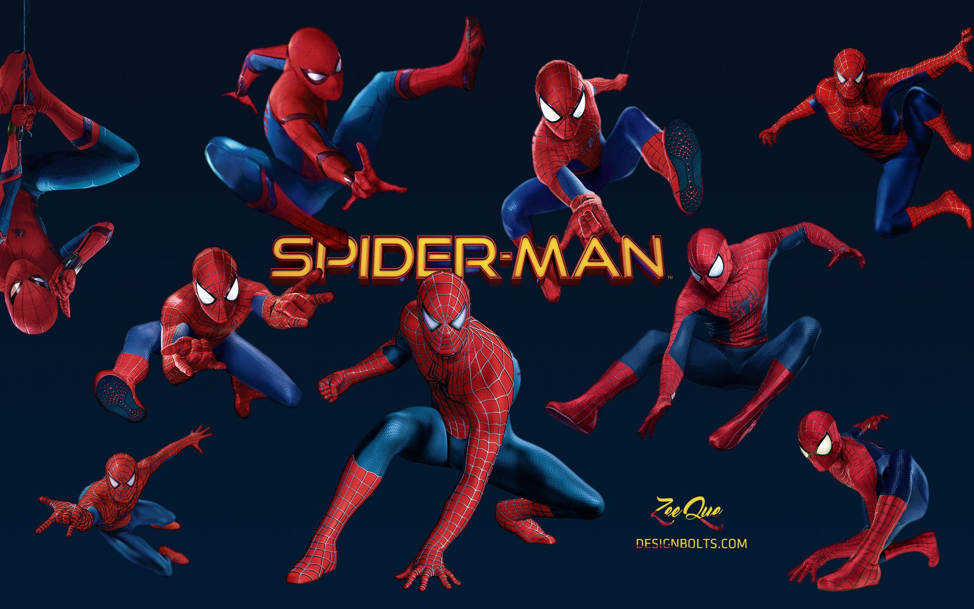 Spider Man Homecoming 2017 Movie Desktop Wallpapers Hd Quality In 2020 Spiderman Spider Man Homecoming 2017 Spiderman Homecoming