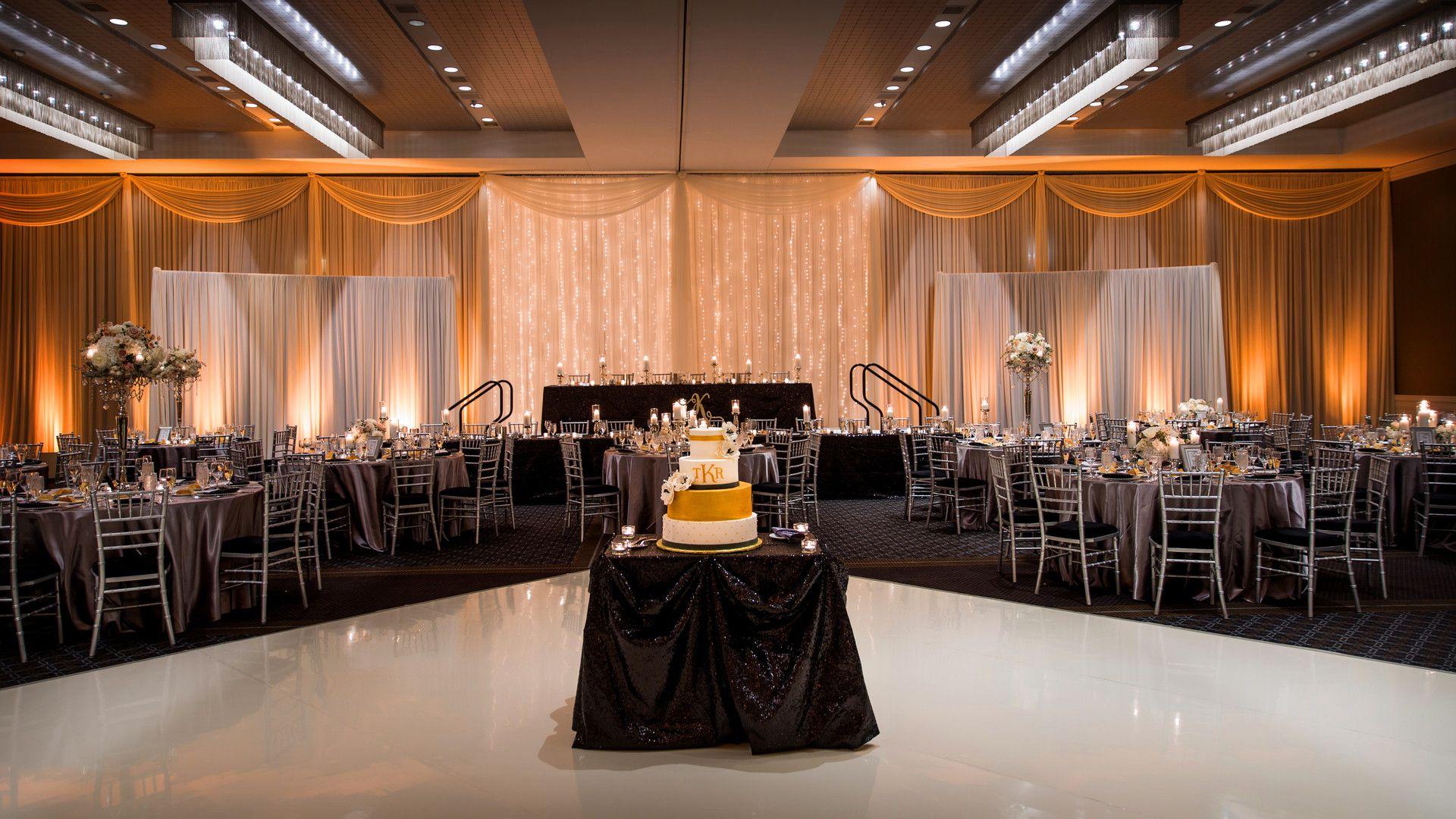 Luxurious Winter Wedding At Hotel Arista In Naperville Il Captured By Jason Kaczorowski Wedding Reception Decorations Winter Wedding Wedding Decor Inspiration