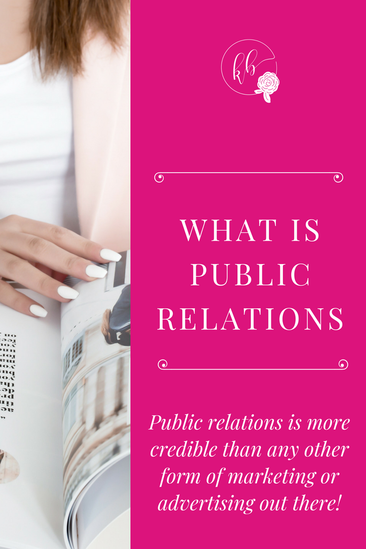 importance of public relations in business