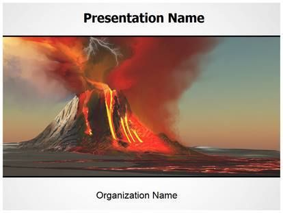 Check Editabletemplatess Sample Volcano Free Powerpoint