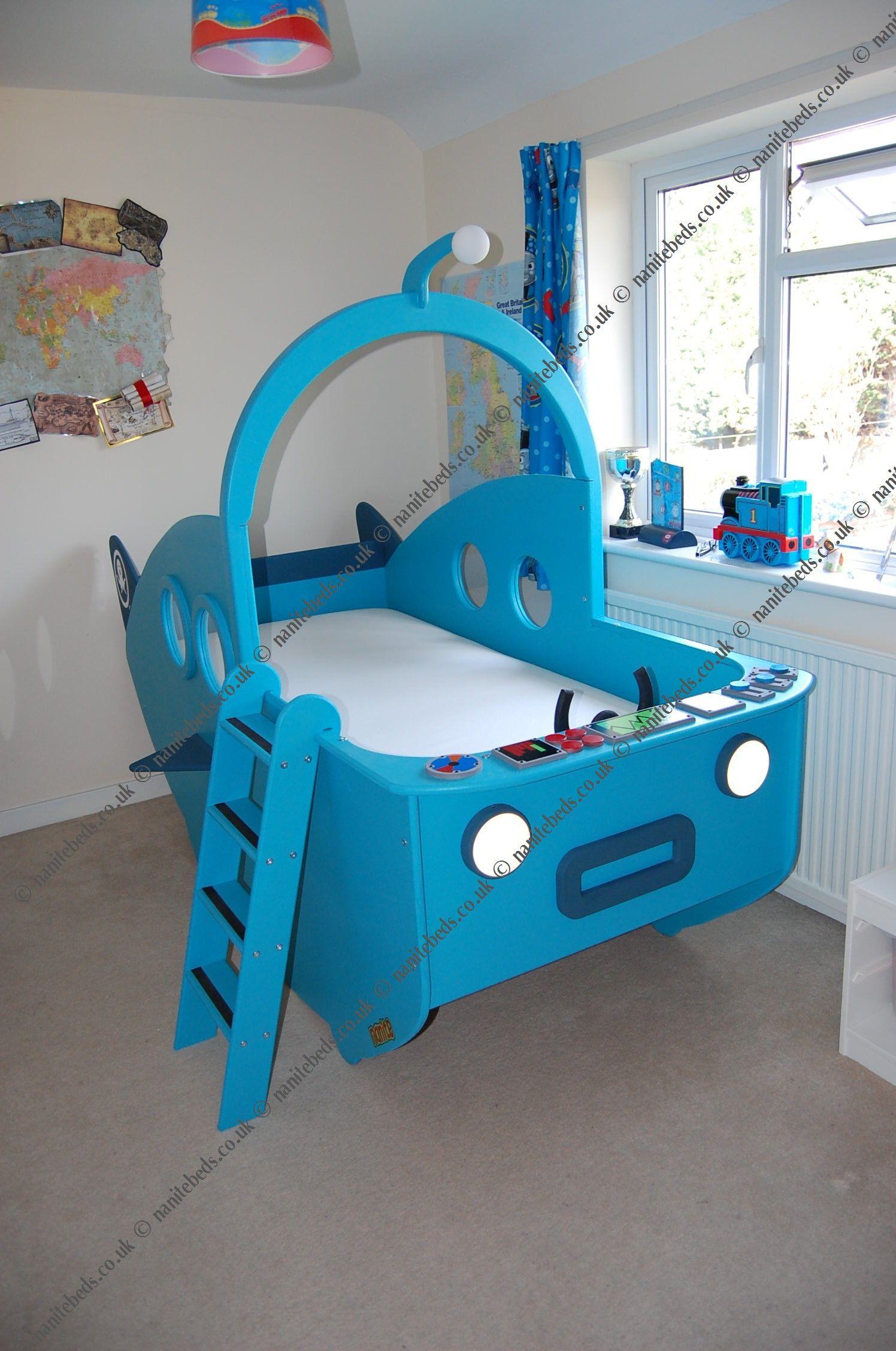 Octonauts Bedroom Decor My Sons Dream An Octonauts Gup A Bed Octonauts Pinterest