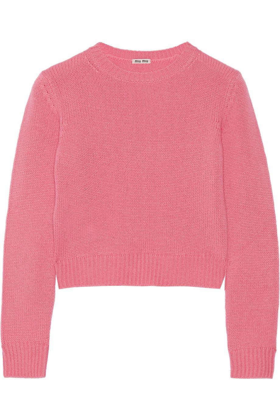 Miu Miu cropped sweater | closet {pink // nudes} | Pinterest | Miu ...