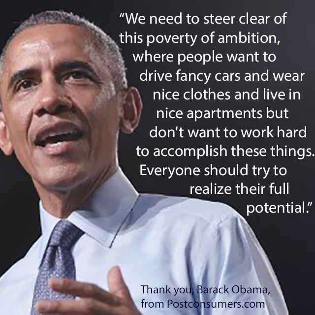 Barack Obama Quotes Favorite President Barack Obama Quotes The Poverty Of Ambition