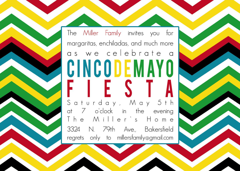 cinco de mayo invitations