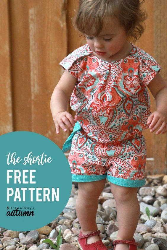 Sew  The Runway Shortie  Free Pattern Download