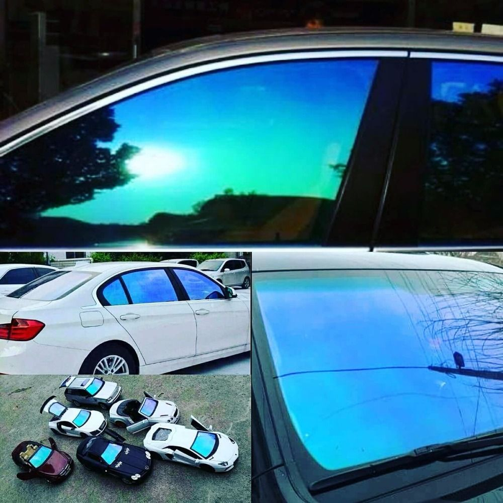 23 20inch X 60inch Automobile Chameleon Window Tint Car Side