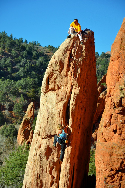 Preserving the freedom of climbing in colorado springs - Garden of the gods rock climbing ...