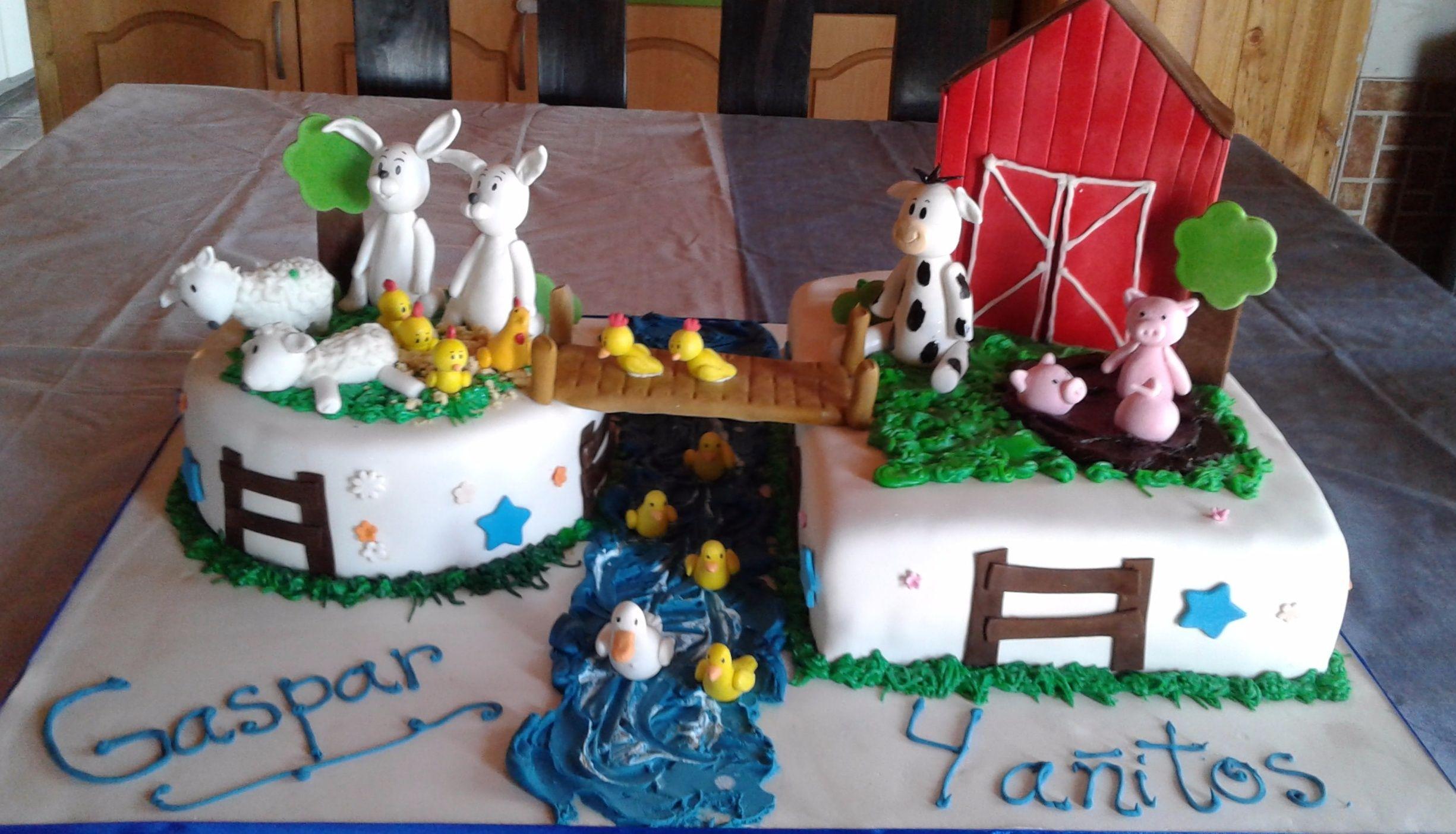 Tortas Cumpleaos Tortas Granja Tortas Animalito Tortas Nios