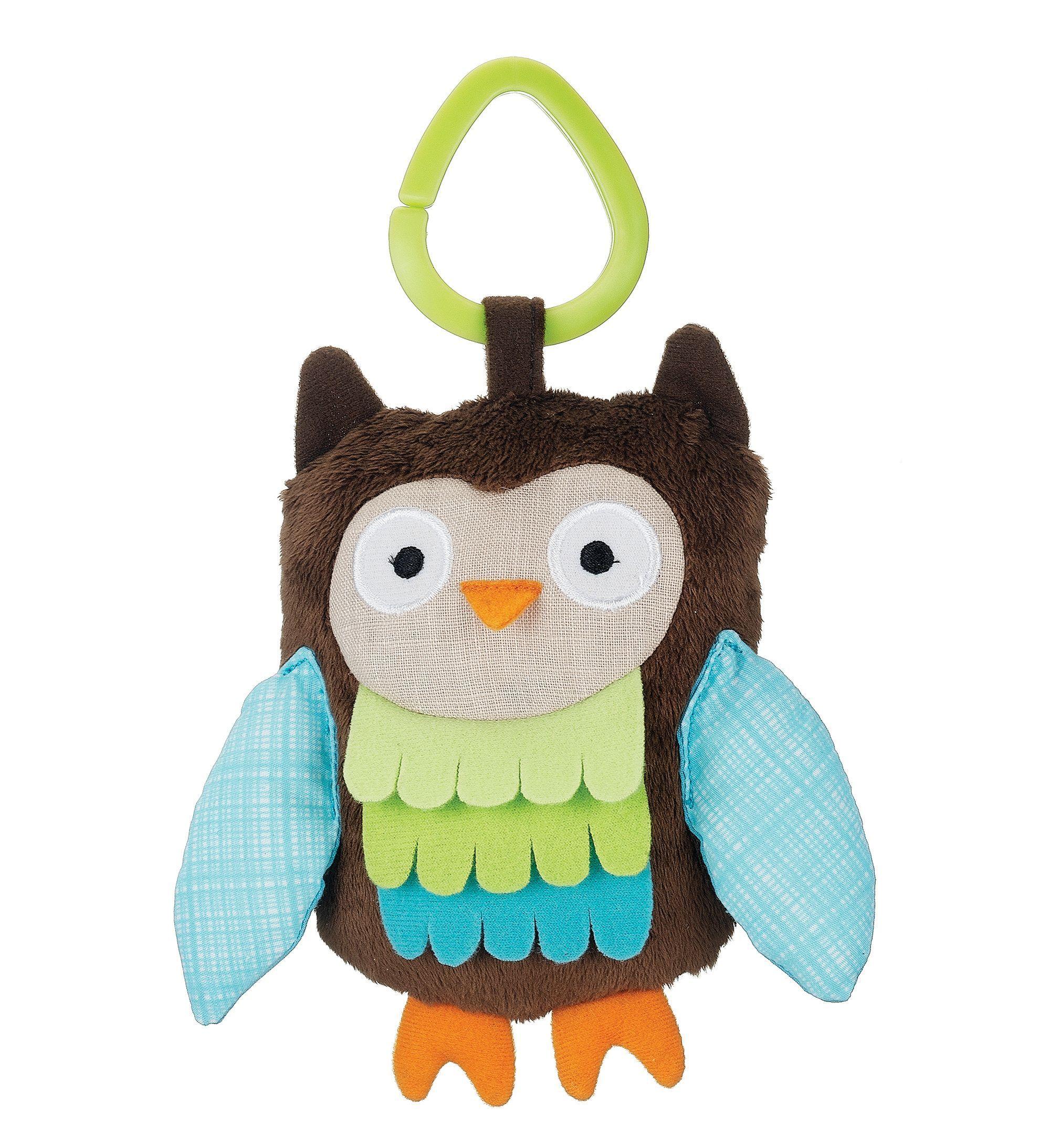 Skip Hop Treetop Friends Owl Stroller Toy Owl baby toys