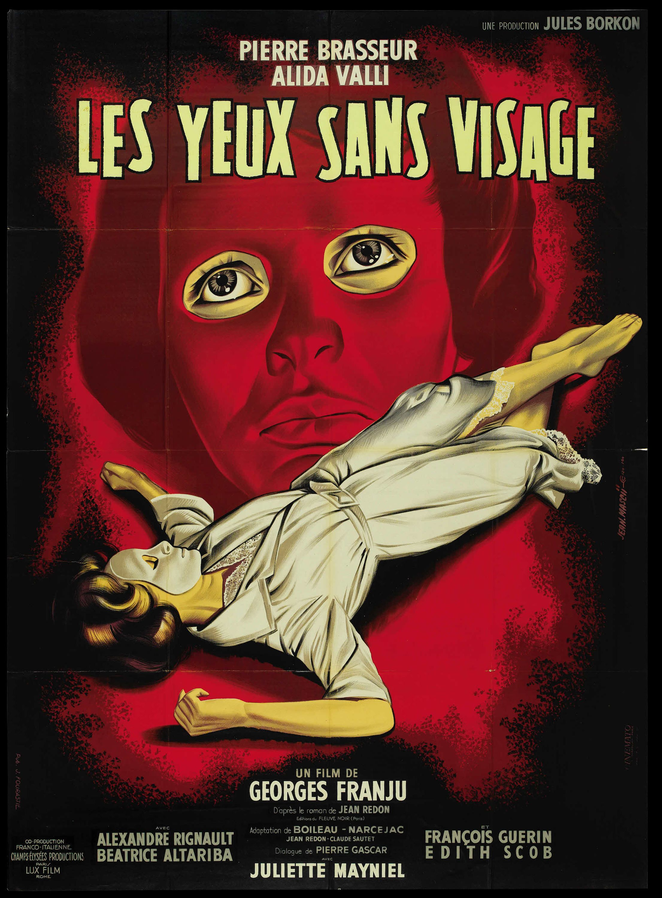 Eyes without a face franju 1960 french grande