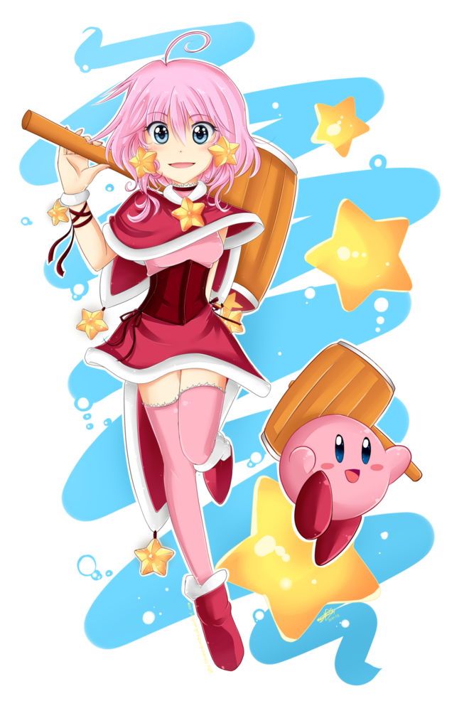 Looks A Lot Like Amy But Cute Nonetheless Kirby Character Kirby Super Smash Bros Memes