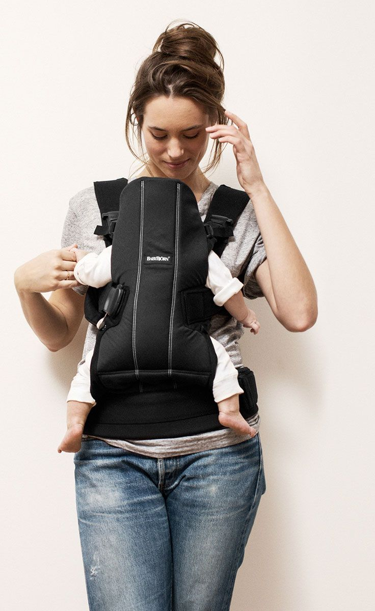 5235fe9759e Mom and newborn in black Baby Carrier We from BABYBJÖRN.