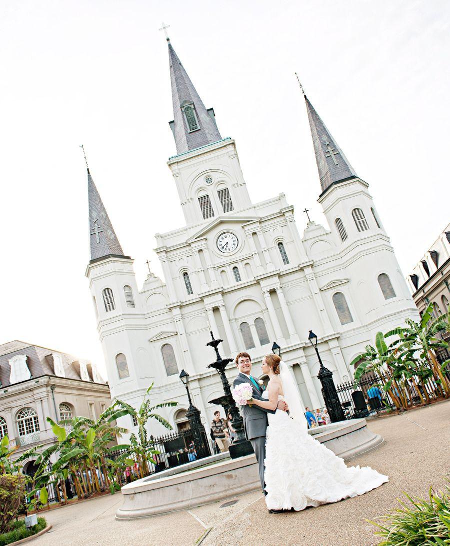 New Orleans Wedding Ideas: Jackson Square New Orleans Wedding