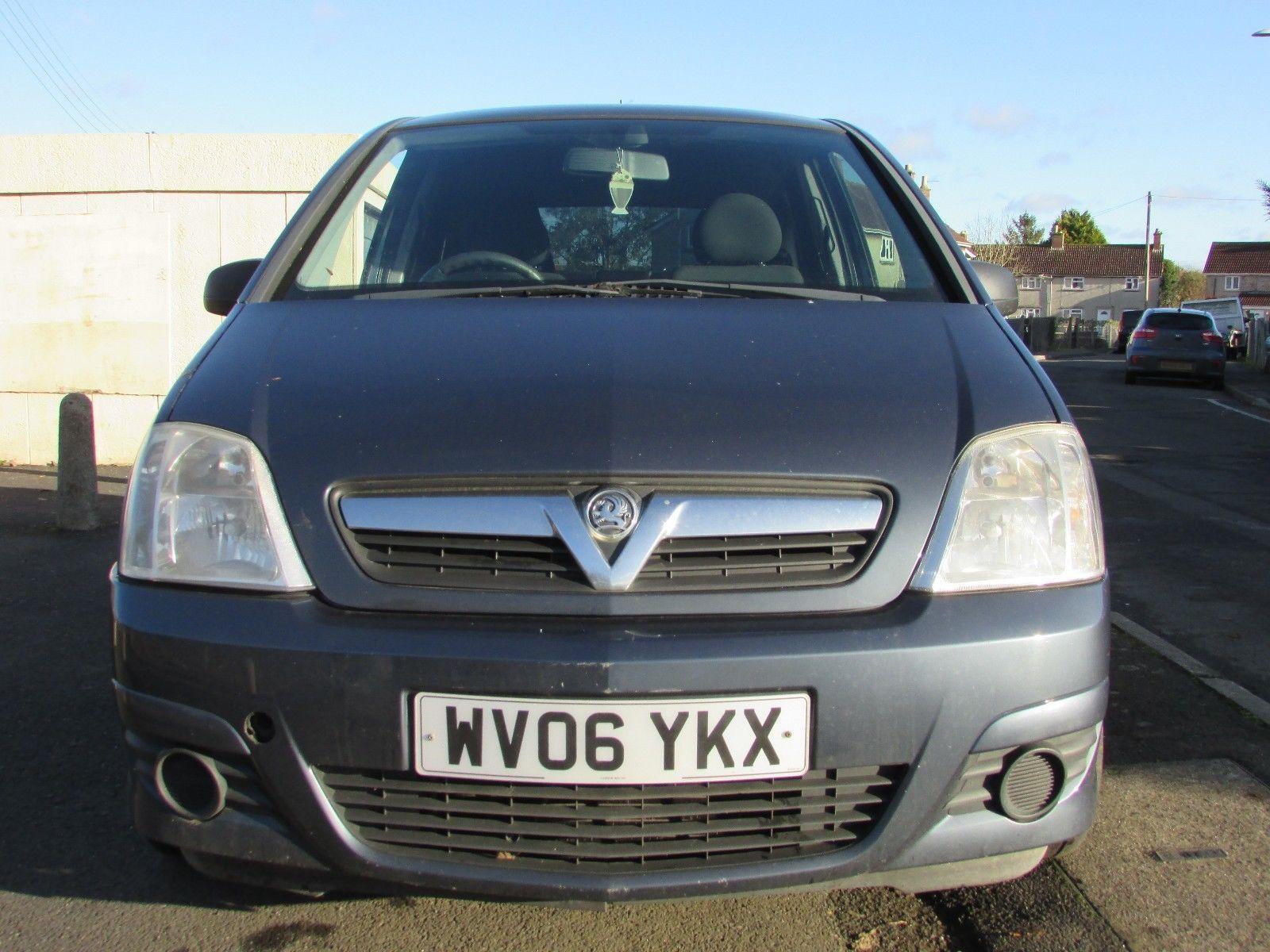 eBay: 2006 Vauxhall Meriva Active E-Tronic, Spares or Repairs Short ...