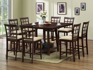 Baxton Studio Katelyn Modern Pub Table Set - 7 Piece Modern Dining Set - NEW