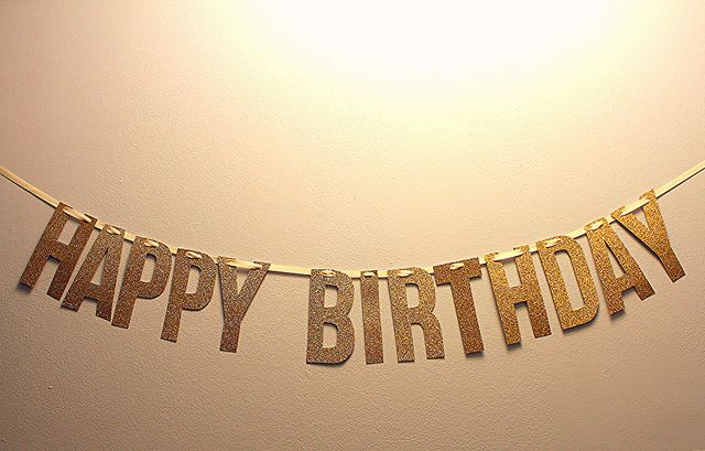 diy how to make your own banner birthdays holidays celebrations