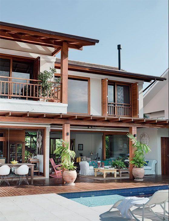 H user mit balkon 60 modelle projekte und fotos ideas for Einfamilienhaus modelle