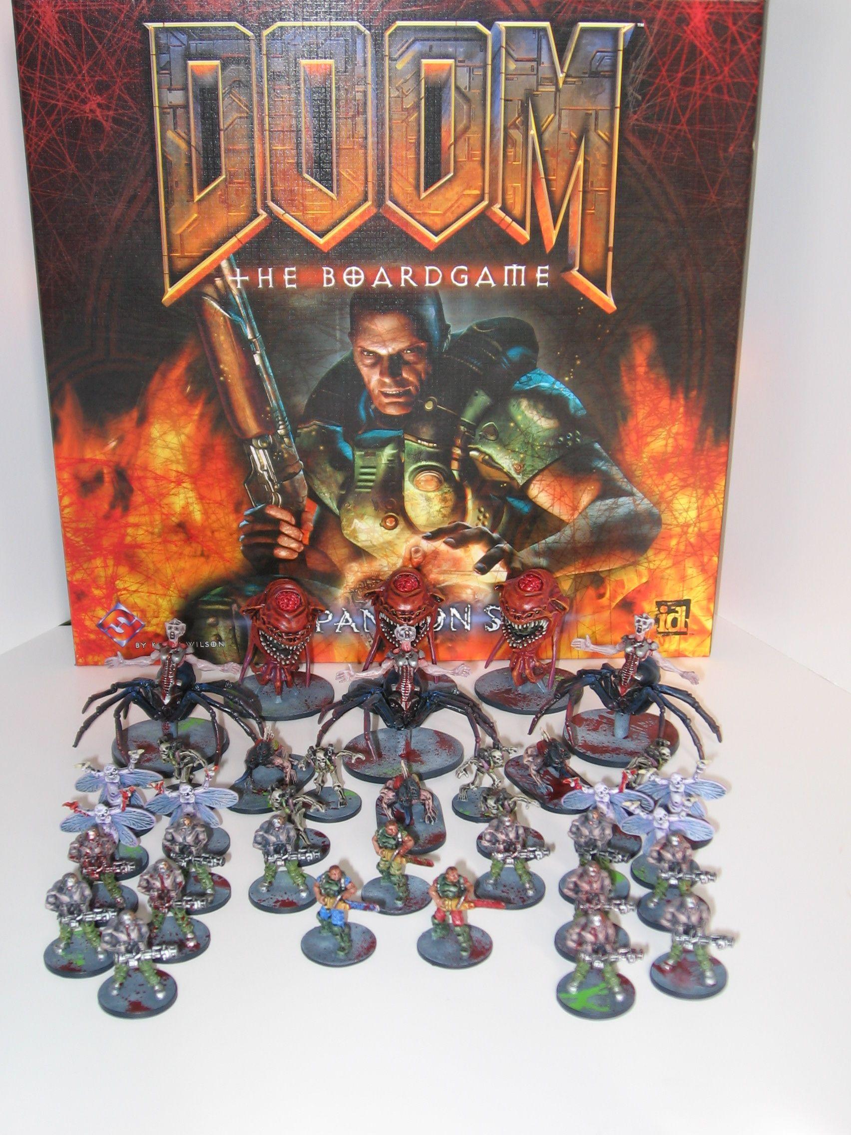 Doom: The Boardgame | Board Game | BoardGameGeek